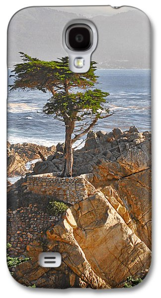 Big Sur Beach Galaxy S4 Cases - Lone Cypress - The icon of Pebble Beach California Galaxy S4 Case by Christine Till