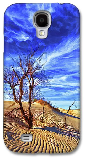 Digitally Manipulated Galaxy S4 Cases - Lone Tree at Sandhills SP Galaxy S4 Case by Bill Caldwell -        ABeautifulSky Photography