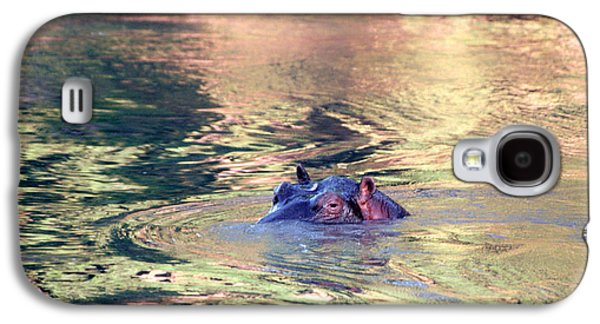 Lonely Hippo Galaxy S4 Case by Sebastian Musial