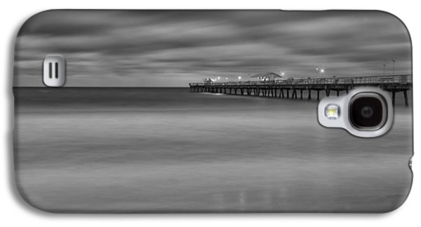 Sand Galaxy S4 Cases - Lonely Morning at the Pier Galaxy S4 Case by Andres Leon