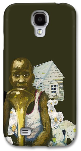 Book Pastels Galaxy S4 Cases - Long Arms Lonely Galaxy S4 Case by Paul Michael Wright
