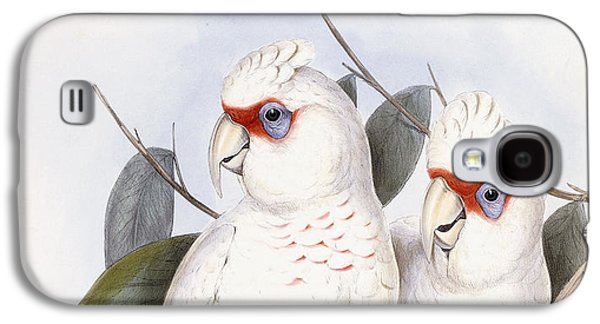Long-billed Cockatoo Galaxy S4 Case by John Gould