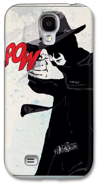 Crime Fighter Galaxy S4 Cases - Long Hard Times Ahead Galaxy S4 Case by Mark Taylor