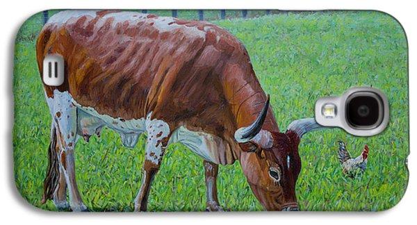 Long Horn Calf Galaxy S4 Case by Manuel Lopez