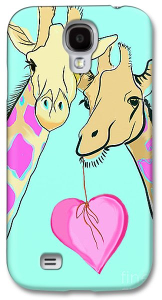 Long Neck Love Galaxy S4 Case by Susie Cunningham