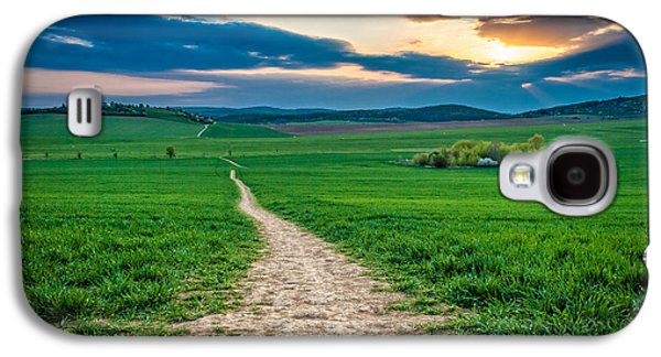 Long Way Galaxy S4 Case by Martin Capek