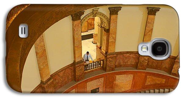 Looking Down - Rotunda - Denver Capitol Galaxy S4 Case by Nikolyn McDonald