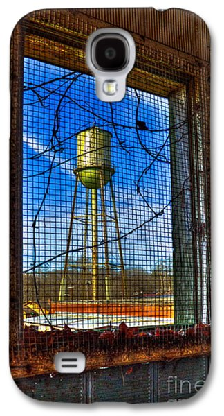 Glass Wall Galaxy S4 Cases - Looking Inside Out Mary Leila Cotton Mill Galaxy S4 Case by Reid Callaway