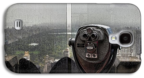 Looking Out Over Central Park Galaxy S4 Case by Martin Newman