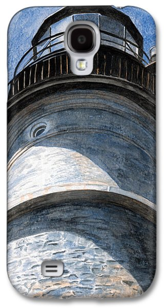 Looking Up Portland Head Light Galaxy S4 Case by Dominic White