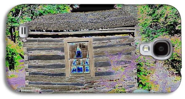 Slavery Galaxy S4 Cases - Loom Slave Cabin Galaxy S4 Case by Edna Weber