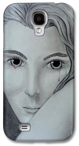 Torn Pastels Galaxy S4 Cases - Loosing My Color  Galaxy S4 Case by Luisa  Zimerman