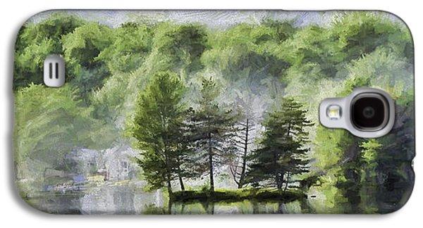 4th July Galaxy S4 Cases - Lorton Lake Galaxy S4 Case by David Francey