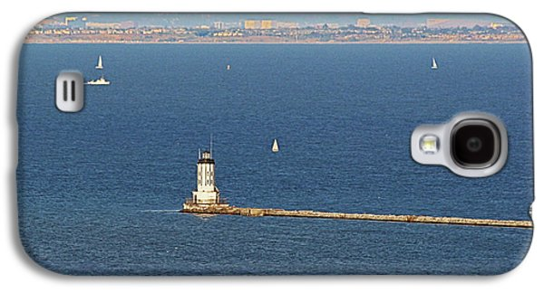 Coast Highway One Galaxy S4 Cases - Los Angeles Harbor Light - Angels Gate - California Galaxy S4 Case by Christine Till