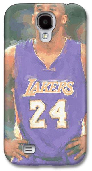 Los Angeles Lakers Kobe Bryant 2 Galaxy S4 Case by Joe Hamilton