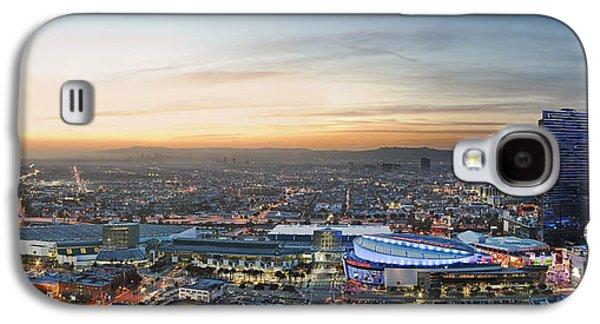 Kelley King Galaxy S4 Cases - Los Angeles West View Galaxy S4 Case by Kelley King