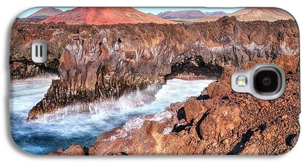 Los Hervideros - Lanzarote Galaxy S4 Case by Joana Kruse