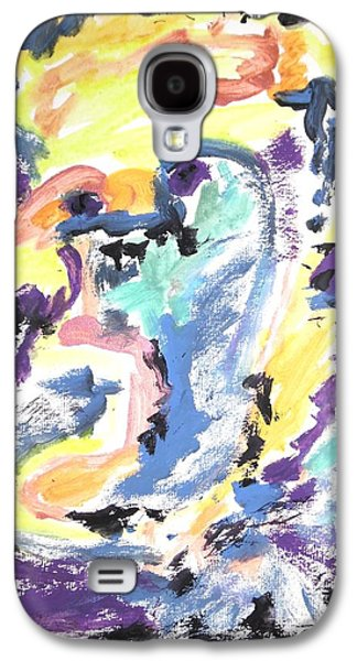 Psychiatry Paintings Galaxy S4 Cases - Loss of consciousness Galaxy S4 Case by Esther Newman-Cohen