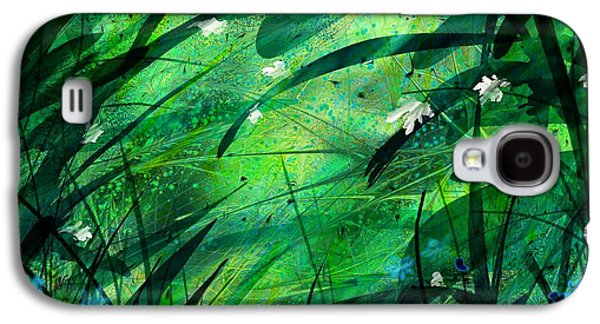 Abstract Nature Galaxy S4 Cases - Lost in Paradise Galaxy S4 Case by Rachel Christine Nowicki