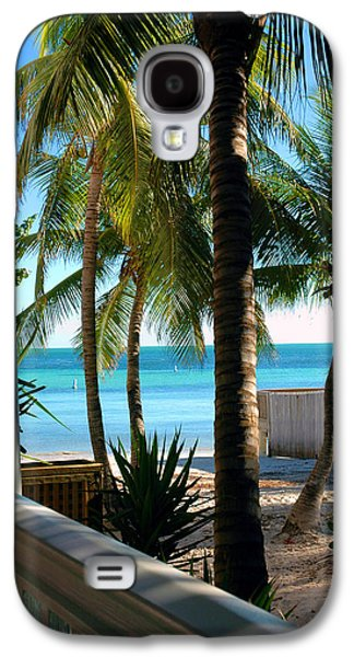 Beach Photos Galaxy S4 Cases - Louies Backyard Galaxy S4 Case by Susanne Van Hulst