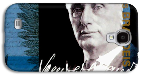 Abolition Paintings Galaxy S4 Cases - Louis D Brandeis Galaxy S4 Case by Lanjee Chee