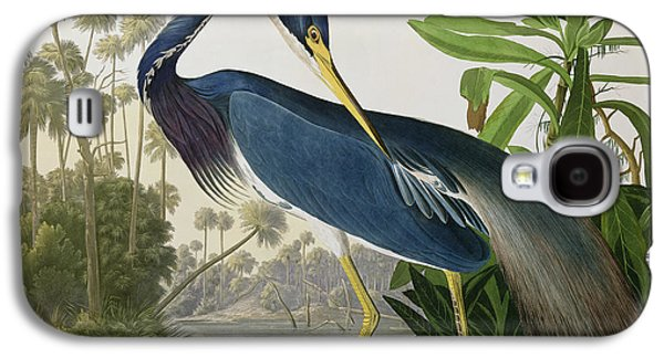 Louisiana Heron Galaxy S4 Case by John James Audubon
