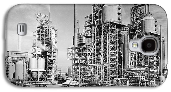 Machinery Galaxy S4 Cases - Louisiana: Oil Refinery Galaxy S4 Case by Granger