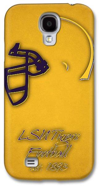 Louisiana State University Photographs Galaxy S4 Cases - Louisiana State Tigers Helmet 2 Galaxy S4 Case by Joe Hamilton
