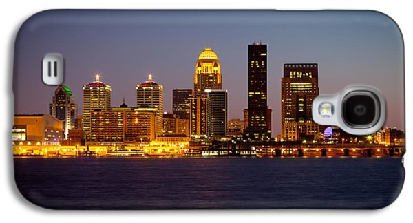 Business Galaxy S4 Cases - Louisville Galaxy S4 Case by Melinda Fawver