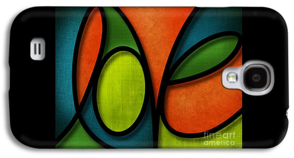 Love - Abstract Galaxy S4 Case by Shevon Johnson