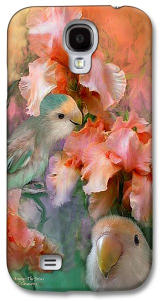 Love Among The Irises Galaxy S4 Case by Carol Cavalaris