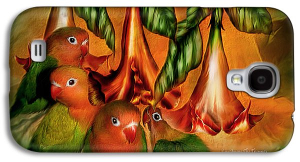 Love Among The Trumpets Galaxy S4 Case by Carol Cavalaris