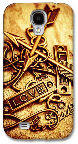 Love Charms In Romantic Signs And Symbols Galaxy S4 Case by Jorgo Photography - Wall Art Gallery
