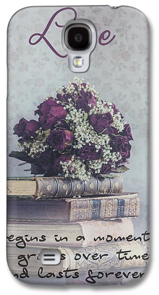 Creepy Galaxy S4 Cases - Love forever Galaxy S4 Case by Joana Kruse