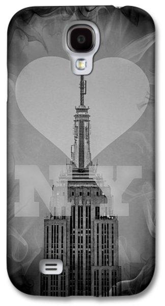 Love New York Bw Galaxy S4 Case by Az Jackson