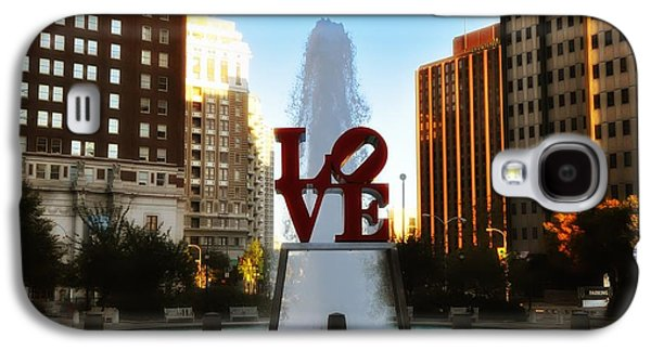 Love Park - Love Conquers All Galaxy S4 Case by Bill Cannon
