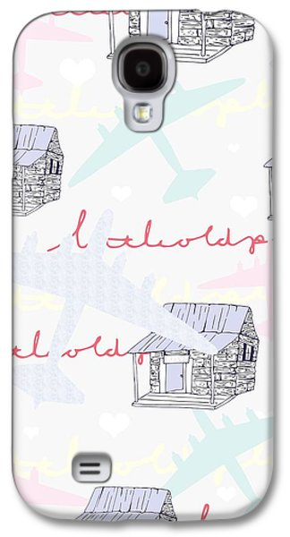 Love Shack Galaxy S4 Case by Beth Travers