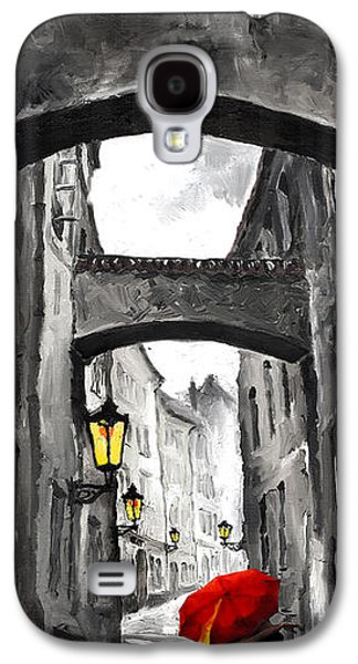 Architecture Mixed Media Galaxy S4 Cases - Love Story Galaxy S4 Case by Yuriy  Shevchuk