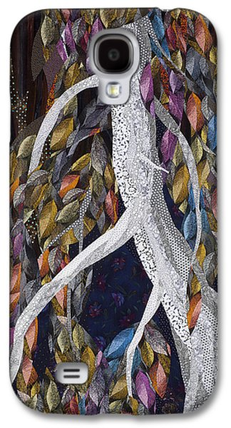 Autumn Landscape Tapestries - Textiles Galaxy S4 Cases - Lovely Dark and Deep Galaxy S4 Case by Linda Beach
