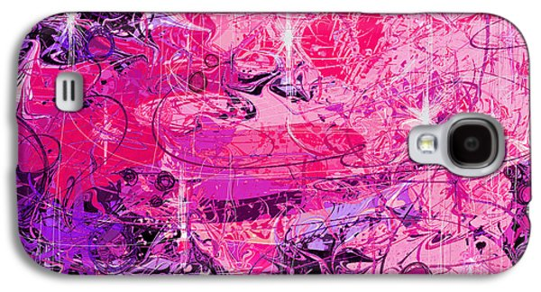 Nature Abstracts Galaxy S4 Cases - Lovers Galaxy S4 Case by Rachel Christine Nowicki