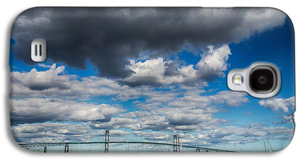 Transportation Photographs Galaxy S4 Cases - Low Clouds Galaxy S4 Case by Karol  Livote