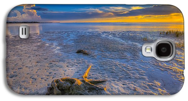 Low Tide Stump Galaxy S4 Case by Marvin Spates