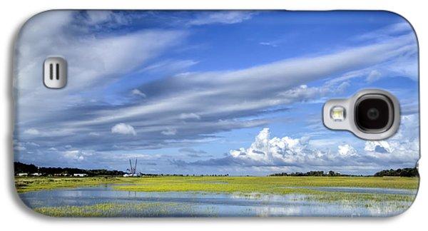 Floods Galaxy S4 Cases - Lowcountry Flood Tide II Galaxy S4 Case by Dustin K Ryan