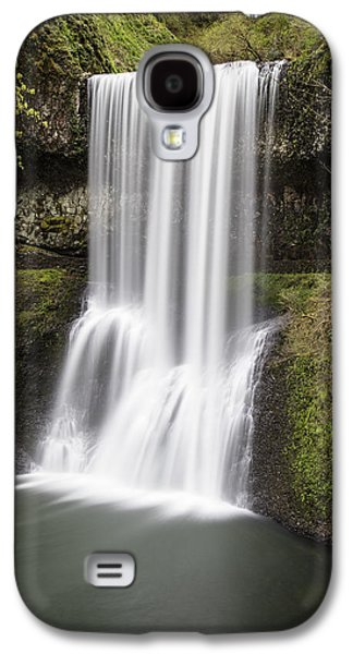 Lower South Falls In Silver Falls State Park Galaxy S4 Case by John McGraw