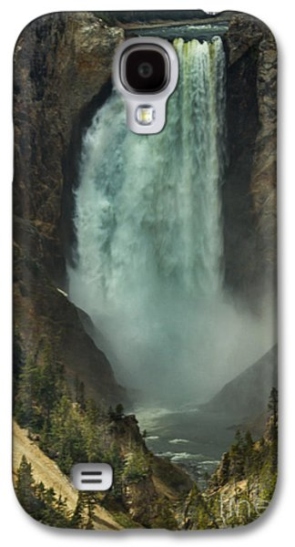 Haybale Galaxy S4 Cases - Lower Waterfalls Galaxy S4 Case by Robert Bales