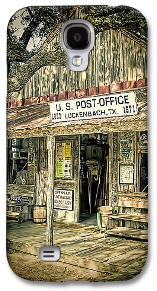 Country Store Galaxy S4 Cases - Luckenbach TX Galaxy S4 Case by Scott Norris