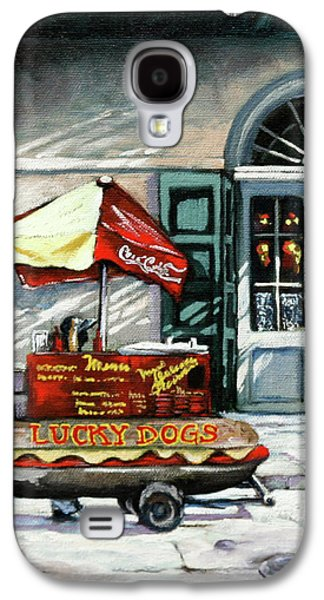 Lucky Dogs Galaxy S4 Case by Dianne Parks
