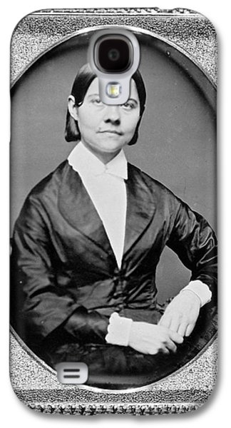 Abolition Photographs Galaxy S4 Cases - Lucy Stone, American Abolitionist Galaxy S4 Case by Photo Researchers