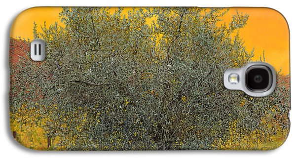 Grape Leaf Galaxy S4 Cases - Lulivo Tra Le Vigne Galaxy S4 Case by Guido Borelli