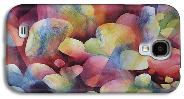 Sun Rays Paintings Galaxy S4 Cases - Luminosity Galaxy S4 Case by Deborah Ronglien